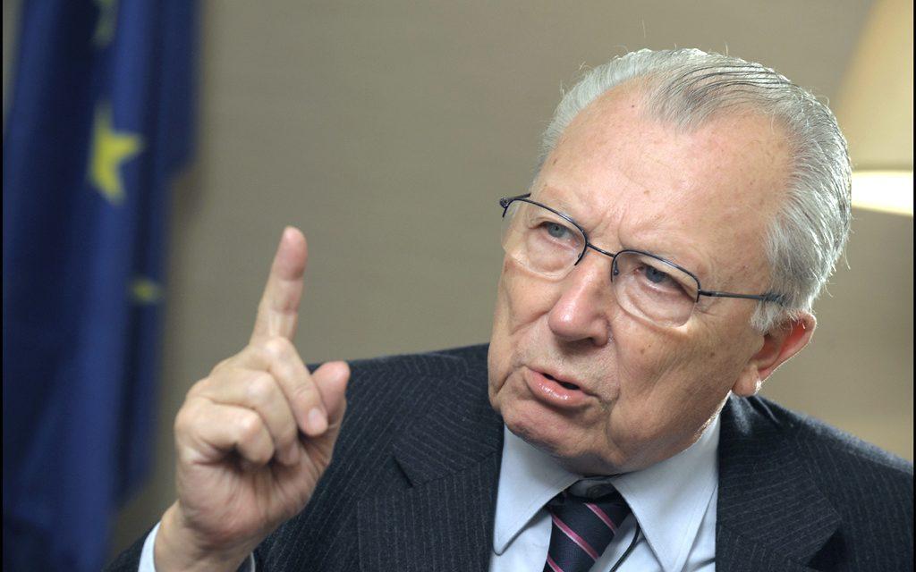 Jacques Delors nommé citoyen d'honneur de l'Europe par le Conseil européen