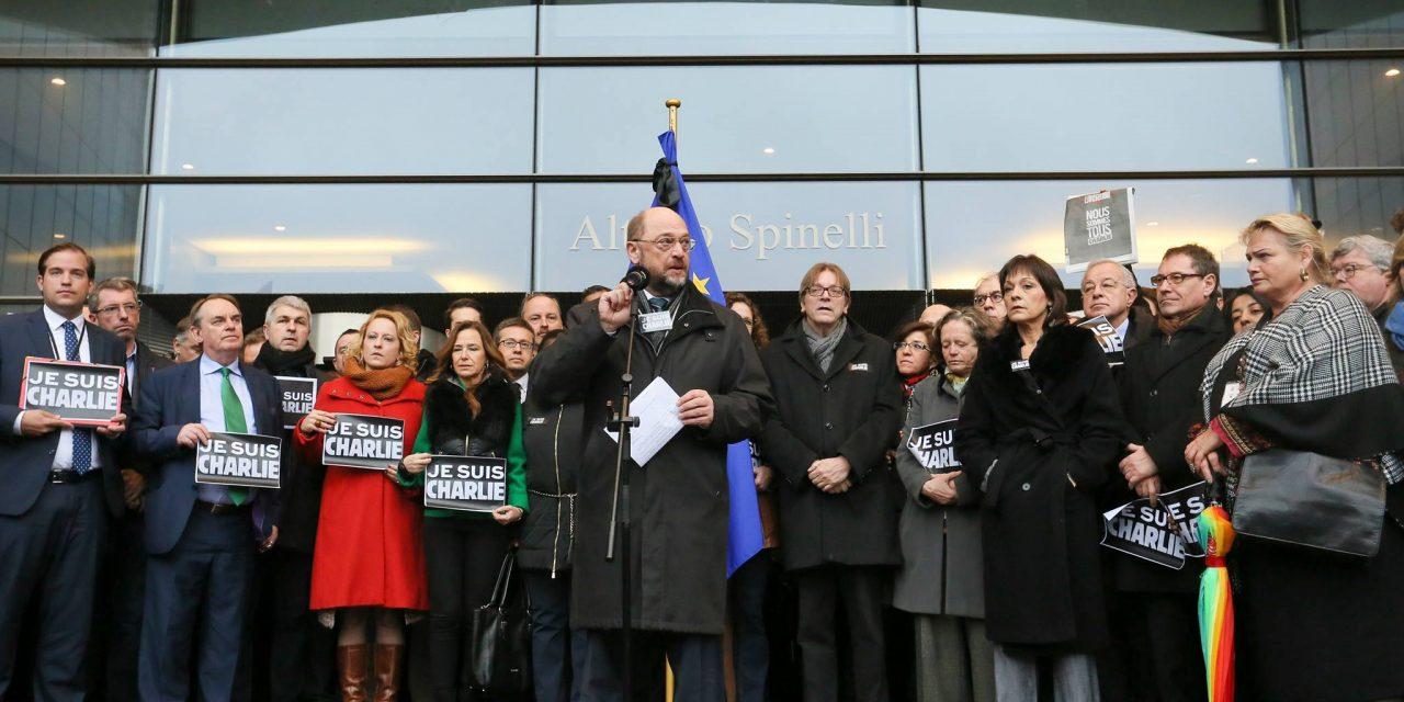 Le Parlement européen est Charlie