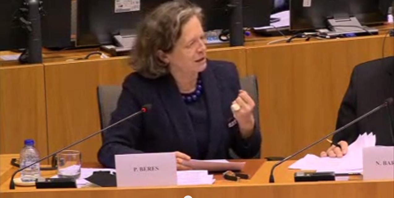 Intervention de Pervenche Berès lors de la réunion des parlementaires nationaux avec les eurodéputé-e-s : «Pour des règles budgétaires plus conviviales !»