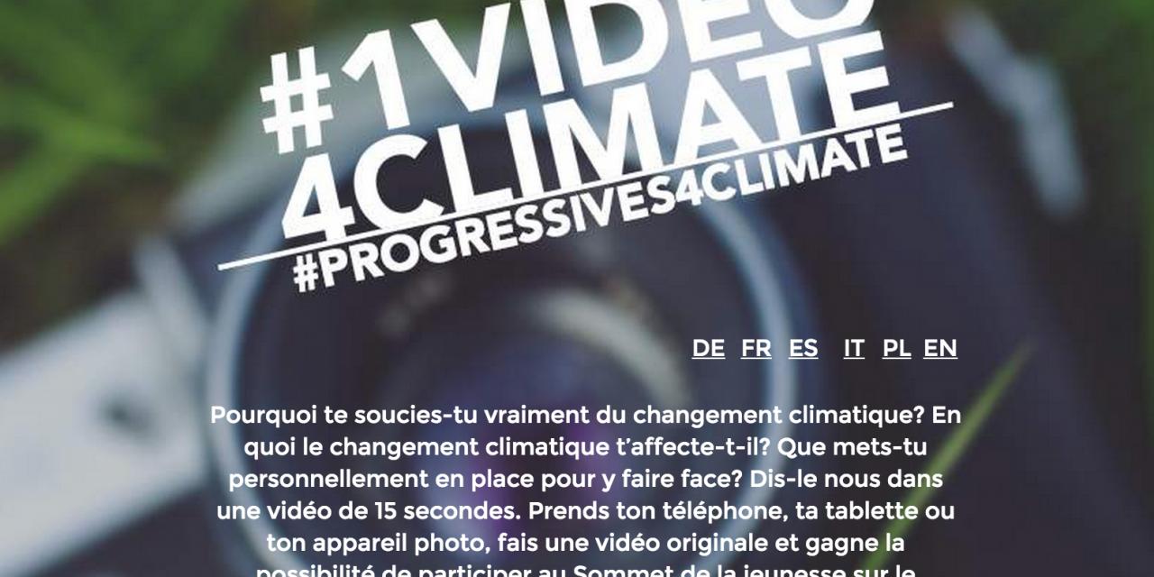 Sommet de la jeunesse contre le changement climatique : le groupe S&D organise un concours !
