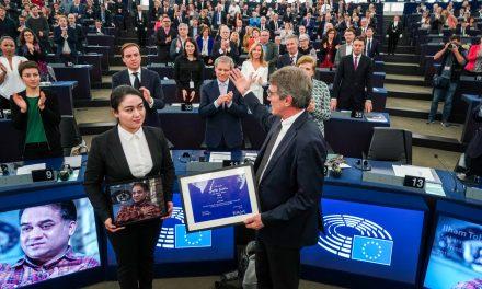 Prix Sakharov et persécution des Ouïghours